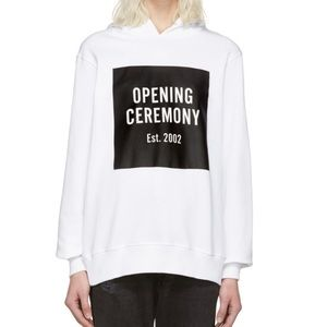 Opening Ceremony Box Logo Hoodie**M